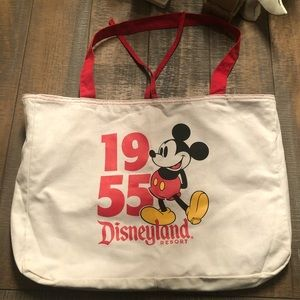 Disney Parks Reversible Tote and Floppy Hat Duo
